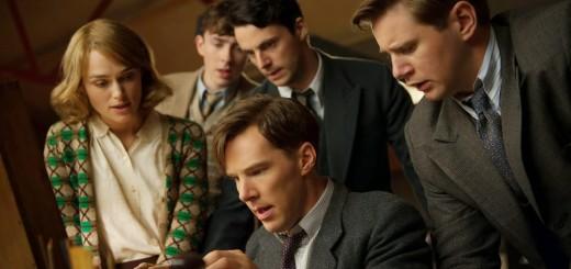 Benedict Cumberbatch, Keira Knightley e Matthew Goode nel film The Imitation Game