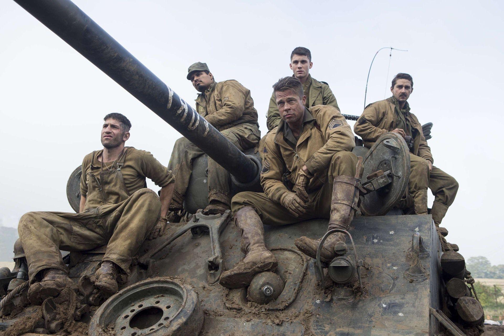 Fury: Brad Pitt torna a combattere i nazisti nell'ultimo film di David ... Shia Labeouf