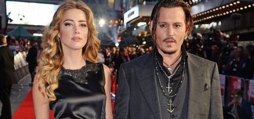 La coppia Johnny Depp e Amber Heard immortalata dal fotografo Dave J Hogan