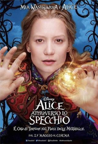 Alice attraverso lo specchio i character poster italiani - Attraverso lo specchio ...