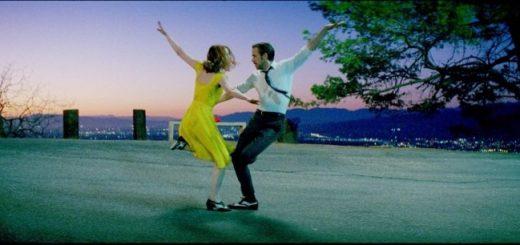 Emma Stone e Ryan Gosling in La La Land di Damien Chazelle