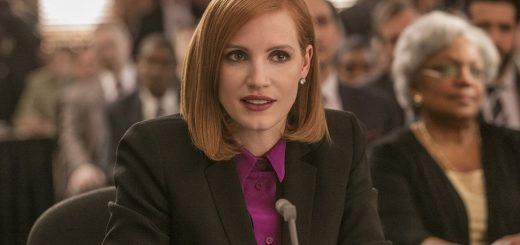 Jessica Chastain in un'immagine di Miss Sloane