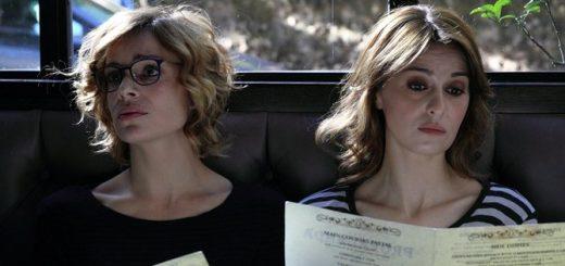 Micaela Ramazzotti e Paola Cortellesi in una foto del film Qualcosa di Nuovo