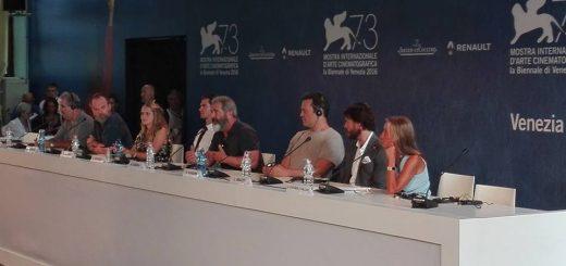 Hacksaw Ridge alla conferenza stampa di Venezia 73 - Foto: MIchela Vasin