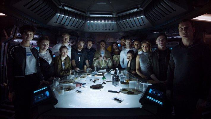alien covenant equipaggio