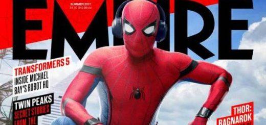 spider-man homecoming copertina empire