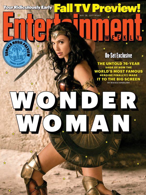 wonder woman entertainment weekly