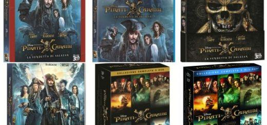 Pirati dei Caraibi La Vendetta di Salazar home video