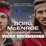 Borg McEnroe video recensione