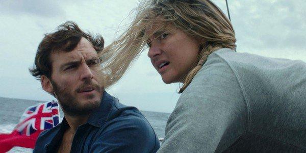 Shailene Woodley e Sam Claflin in Adrift