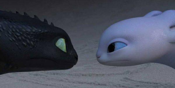 Dragon Trainer Il Mondo Nascosto Furia Buia Furia Bianca