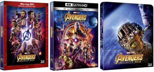 avengers infinity war home video