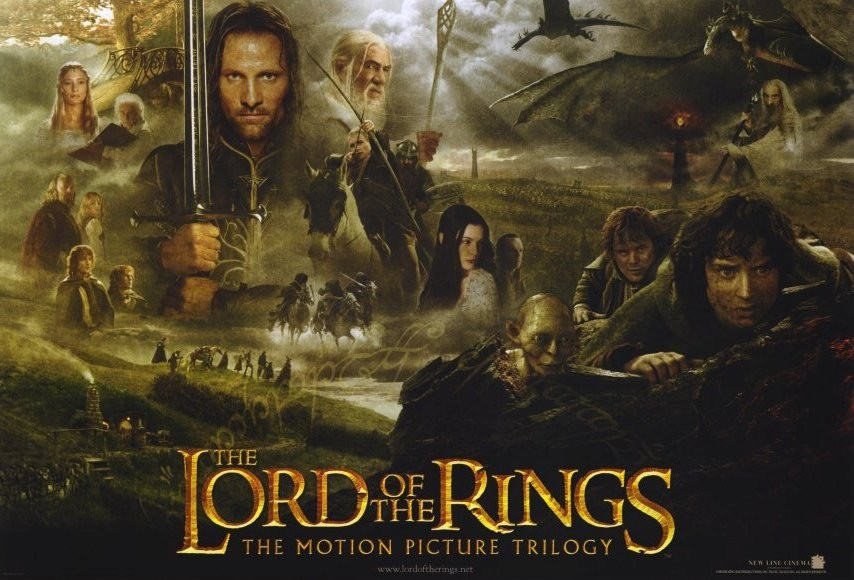 signore degli anelli trilogia