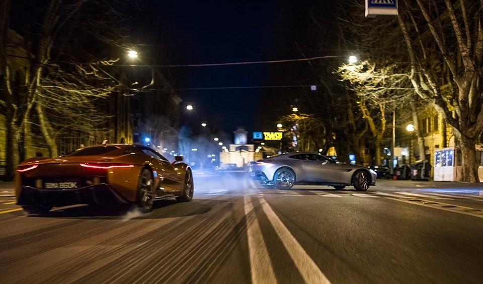 Inseguimento per le strade di Roma in spectre di Sam Mendes
