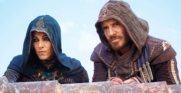 Photo: courtesy of Kerry Brown EW_assassin's creed