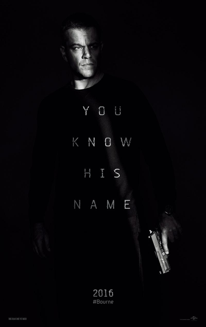 Il Teaser Poster di Jason Bourne