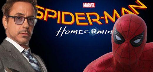 robert downey jr. spiderman homecoming