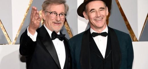 Steven Spielberg e Mark Rylance