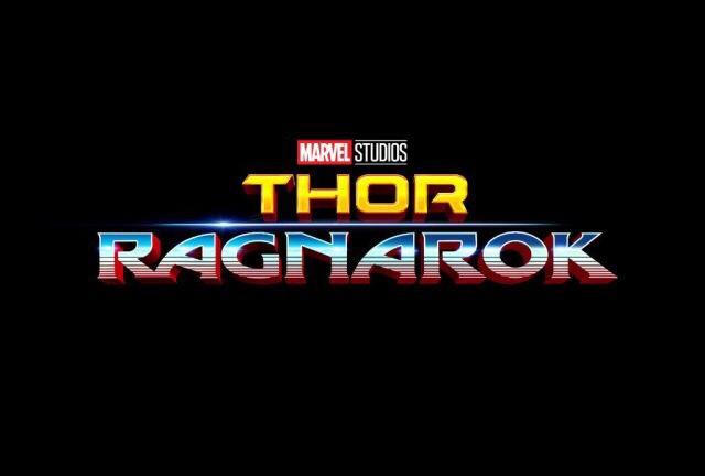 Il logo ufficiale di Thor: Ragnarok