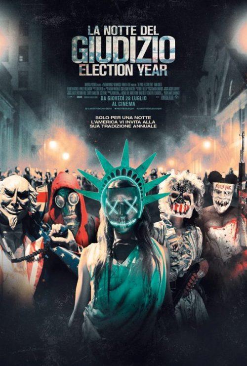 Il poster italiano de La Notte del Giudizio - Election Year