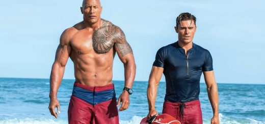 Baywatch red band trailer (2017) Dwayne Johnson as Mitch Buchannon and Zac Efron as Matt Brody