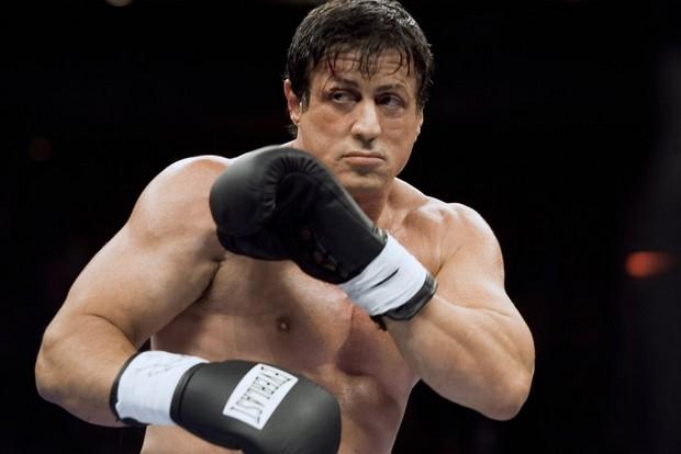 Sylvester Stallone è il pugile Rocky Balboa