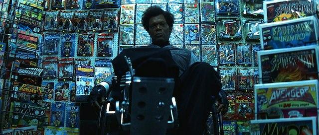 Samuel L. Jackson è Elijah Price in Unbreakable - Il predestinato