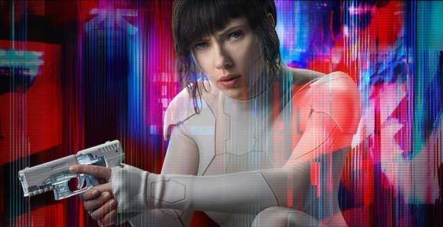 scarlett johansson ghost in the shell poster