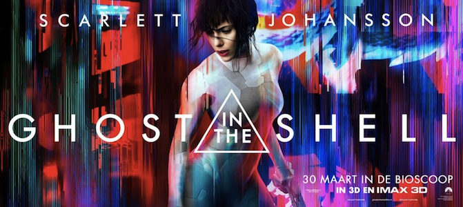ghost in the shell trailer poster