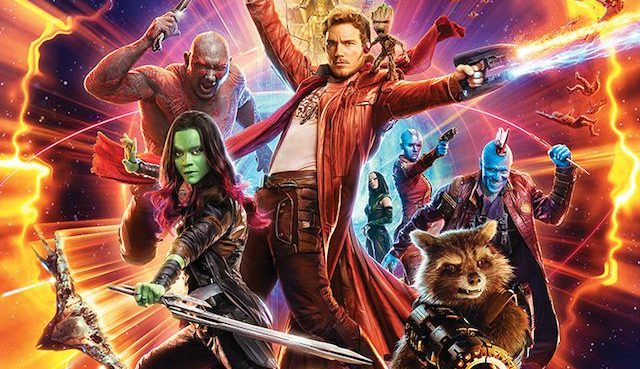 guardiani della galassia vol 2 poster