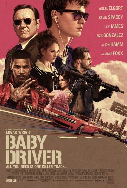 baby driver il genio della fuga poster