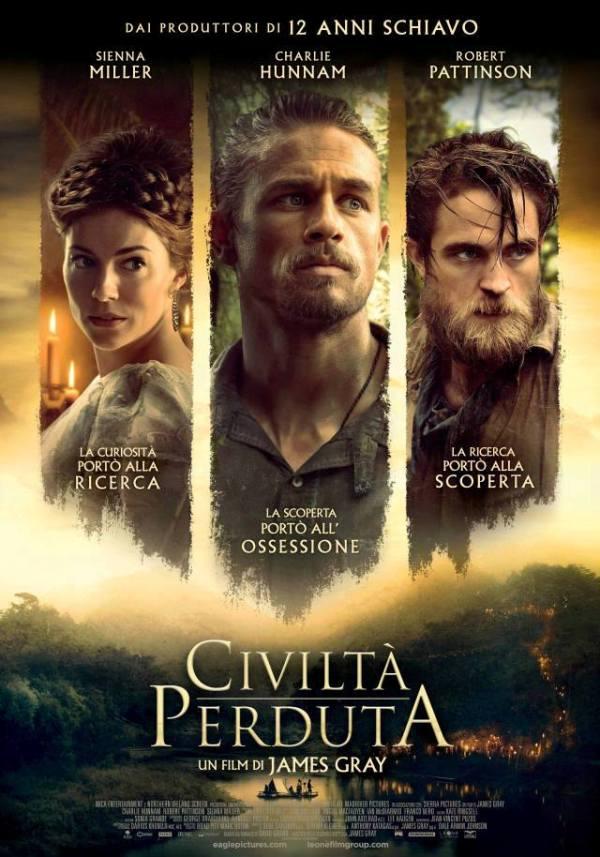 civiltà perduta poster
