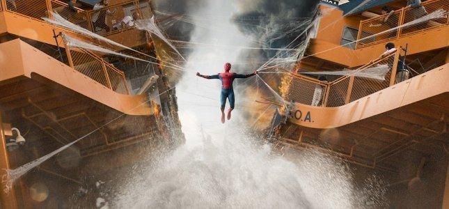 spider-man homecoming spot clip