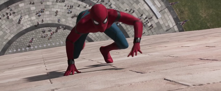 spider-man homecoming spot