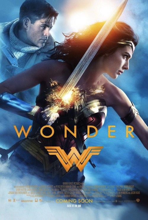 wonder woman spot poster