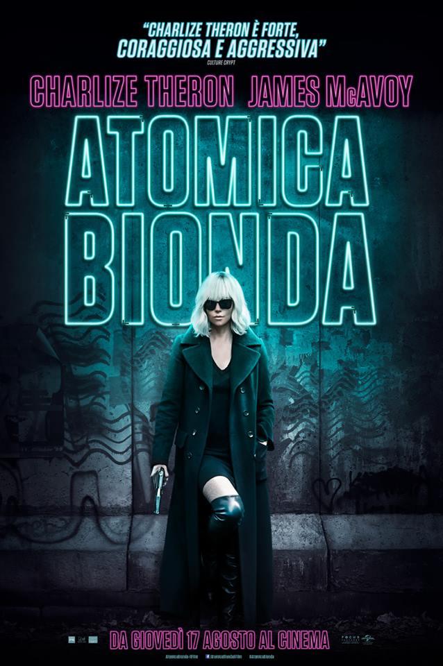 atomica bionda recensione charlie theron poster