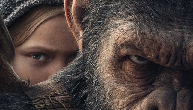 the war il pianeta delle scimmie spot cesare