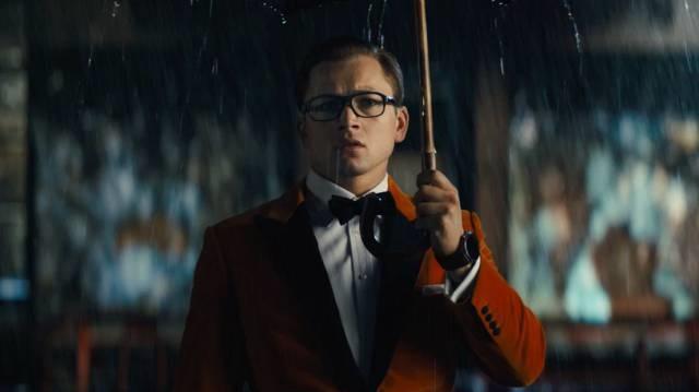 Kingsman il cerchio d'oro spot poster trailer italiano