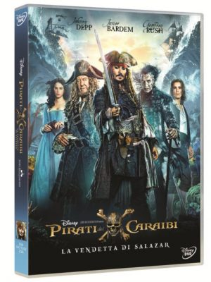 Pirati dei Caraibi La Vendetta di Salazar home video