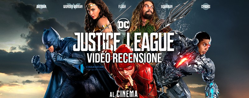 justice league video recensione