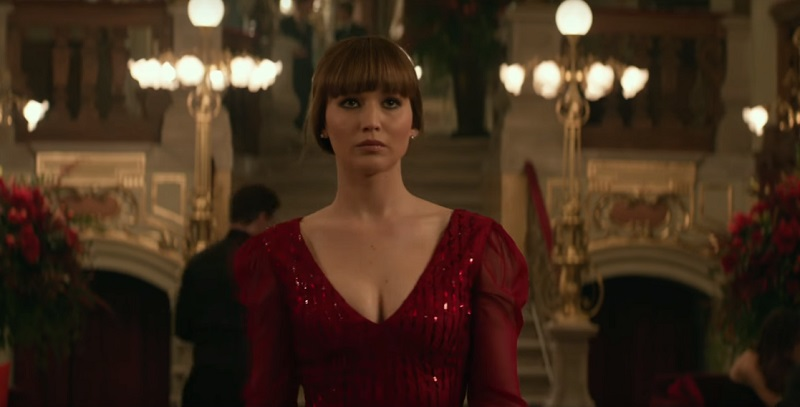 red sparrow spot