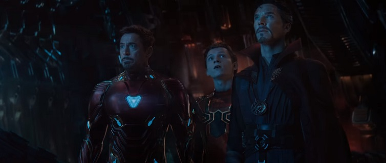 avengers infinity war clip