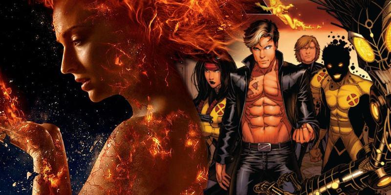 X-Men Dark Phoenix New Mutants
