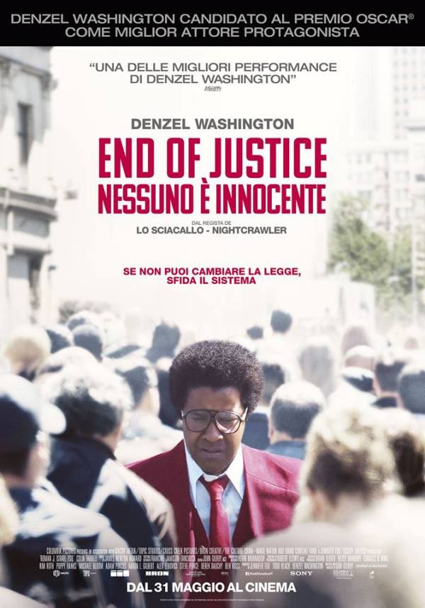 end of justice poster