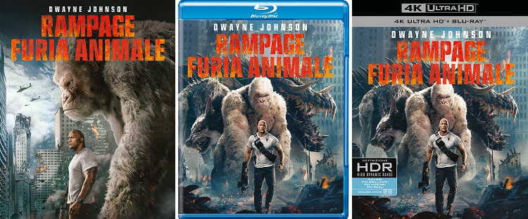 rampage home video