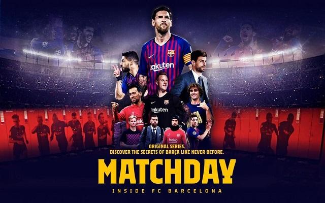Matchday – Inside FC Barcelona