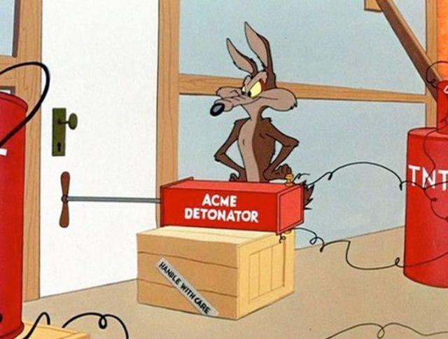 Coyote vs. Acme Dave Green