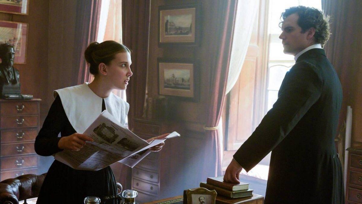 Enola Holmes: Millie Bobby Brown e Henry Cavill nel primo teaser